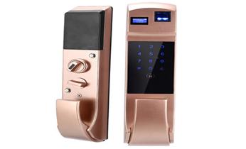 电子玻璃门锁,指纹锁安装维修开换锁电话_防盗门开锁 维修 换锁 安装电子指纹锁电话